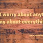 Don't Worry Pray!